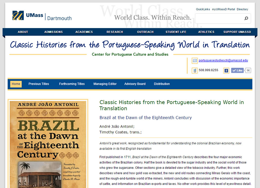 Classic Histories from the Portuguese-Speaking World in Translation